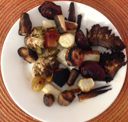 black-and-brown-veggies