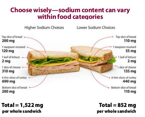 sodium sandwich