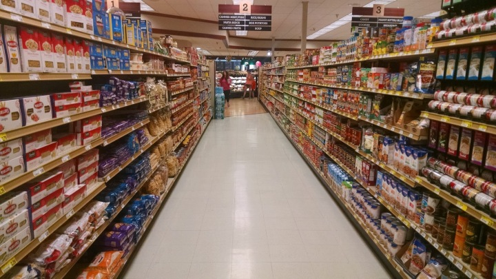 Supermarket Aisles Two