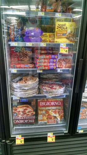 processed, frozen foods