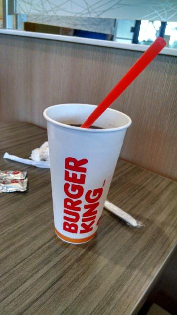 Fast-food plastic straw