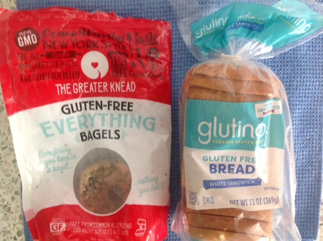 gluten-free, everything bagels and gluten-free bread
