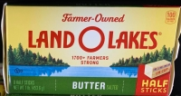 box of LandOLakes butter sticks