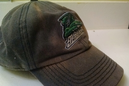 ballcap for the local hokey team