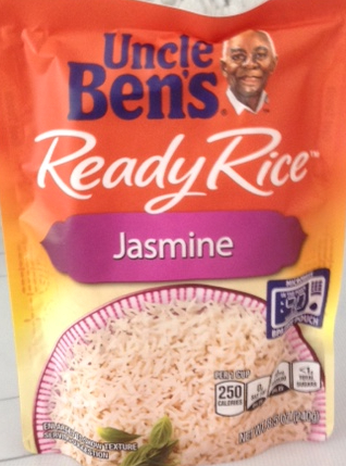 package of Uncle Ben's Ready Rice Jasmine