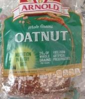 loaf of a high-fiber whole grain bread