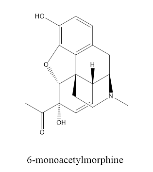 chemical structure of morphine